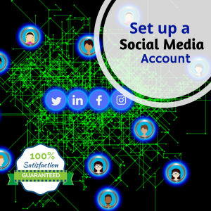 Set up Social Media Account