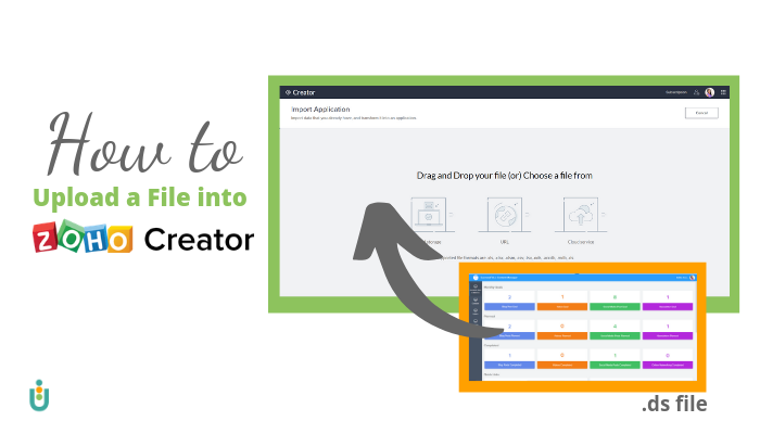 How to Import a File in Zoho Creator